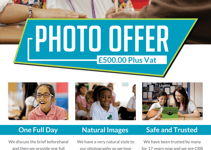 Back to School Photography offer