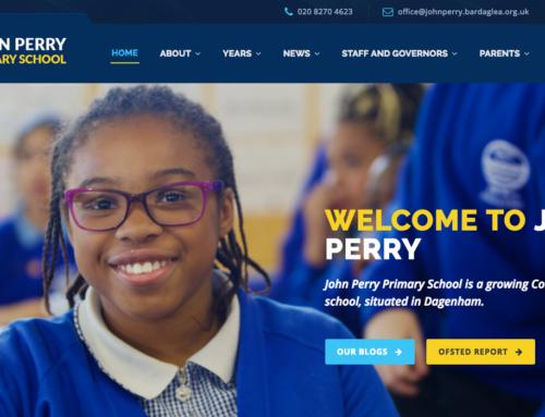 John Perry Primary School Website
