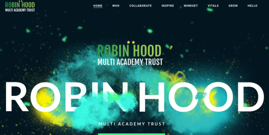 Robinhood-MAT-Birmingham - Website Design and Build - Elemental Education Worcester