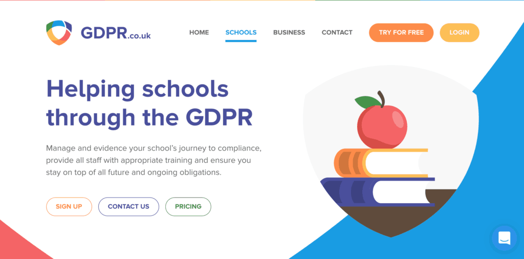 Helping Schools with GDPR